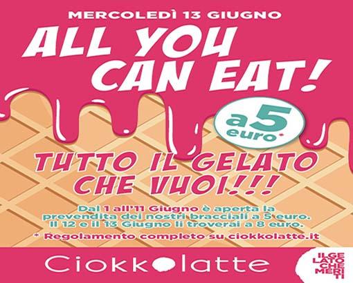 Torna a Padova l'all you can eat del Gelato – per te gelato infinito !!!