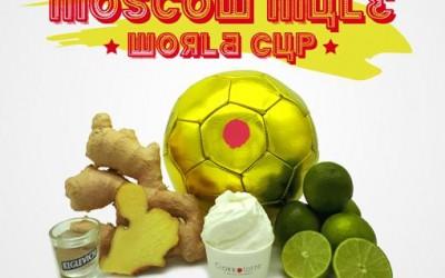 Moscow Mule World Cup – il gelato del Mondiale 2018